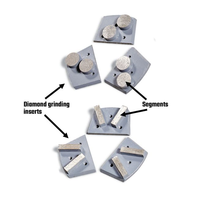 Diamond grinding inserts | Construction Pro Tips