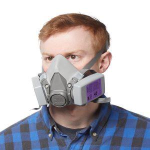 reusable cartridge filter mask