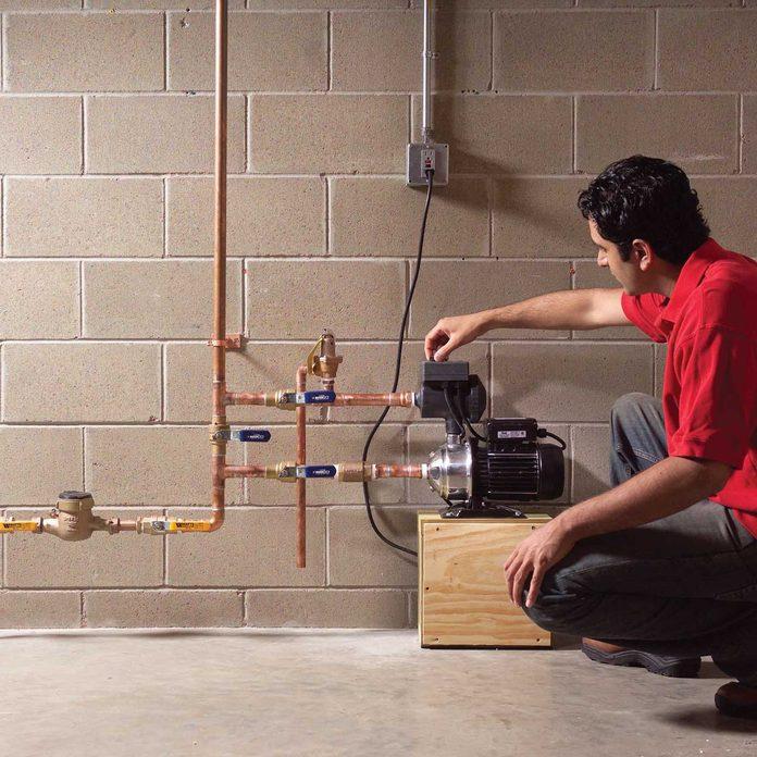 Checking valve