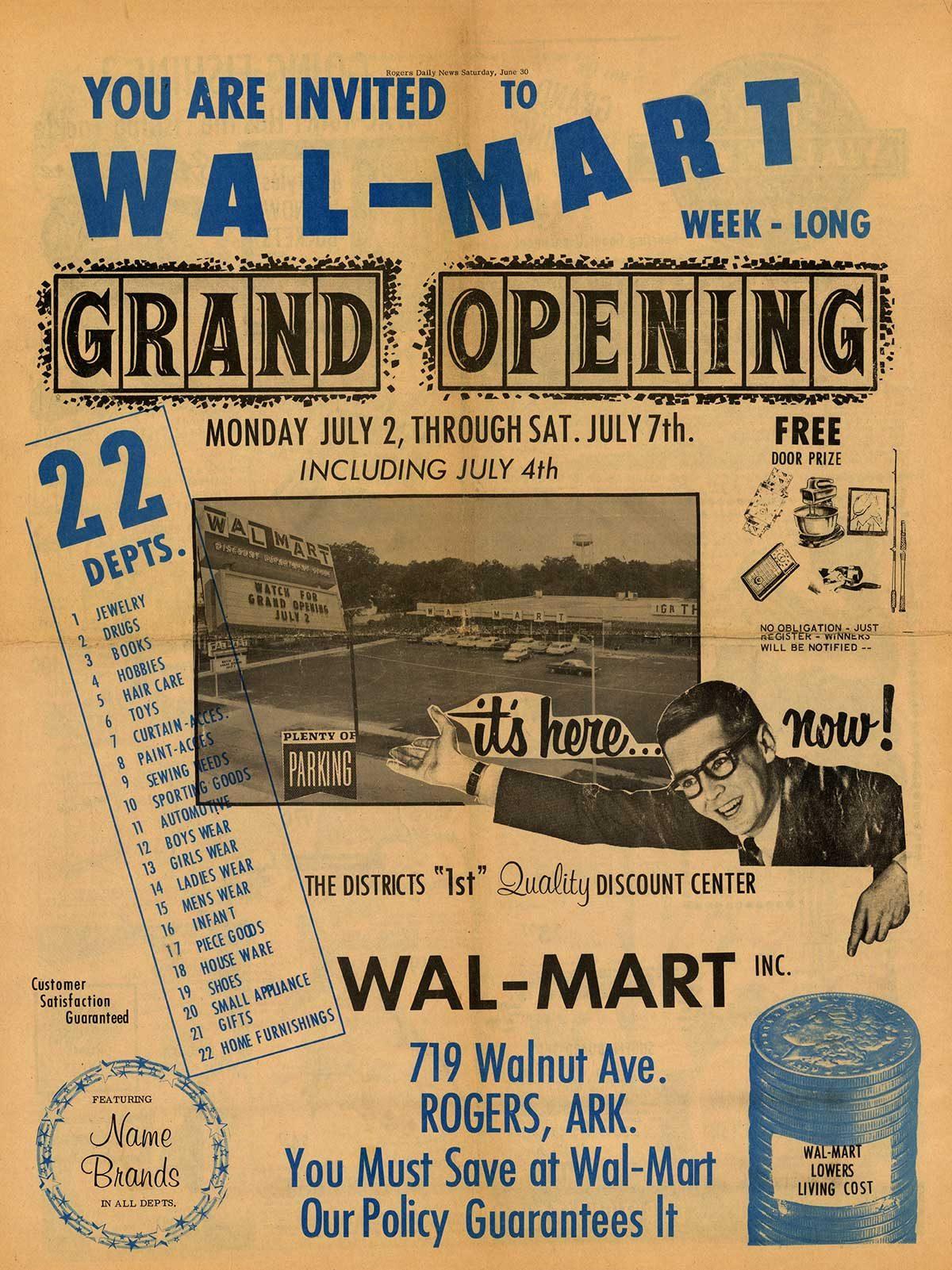 vintage walmart ad