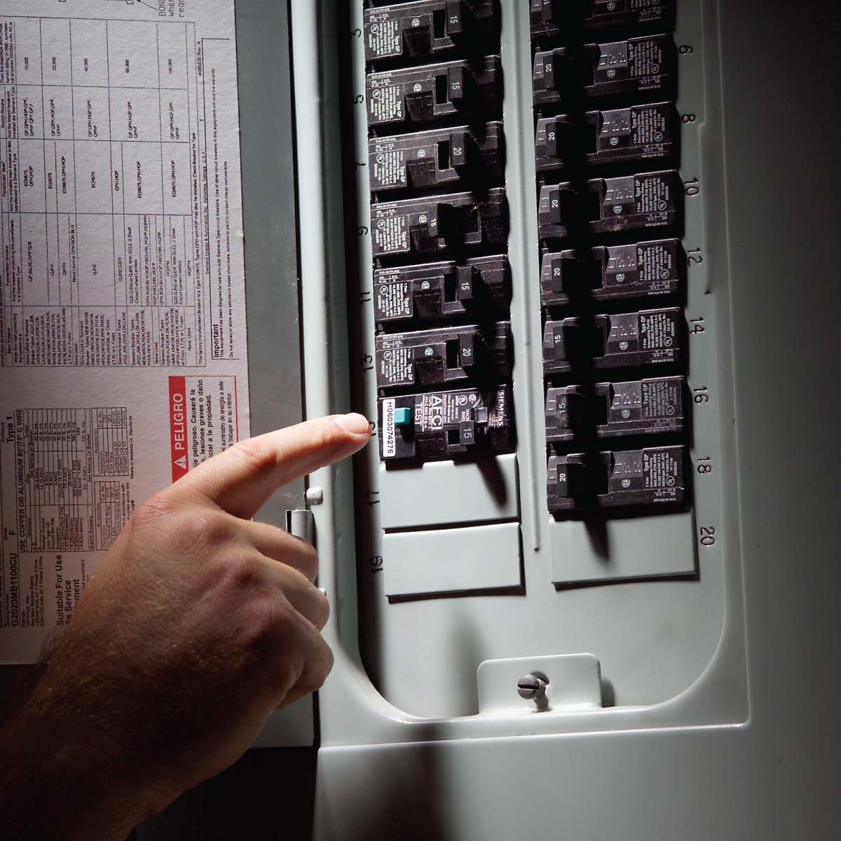 fix sensitive arc fault circuit breaker