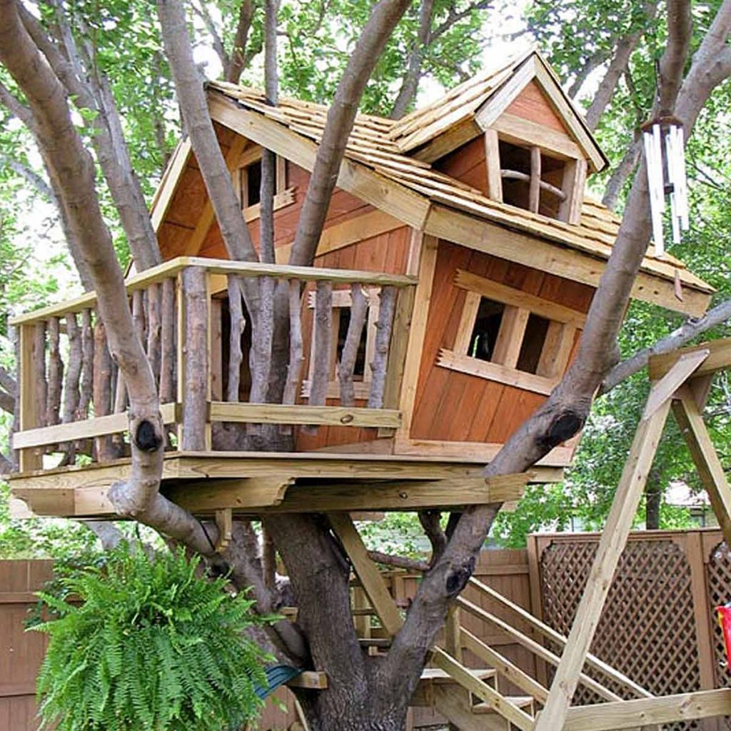treehouse building tips level and sturdy