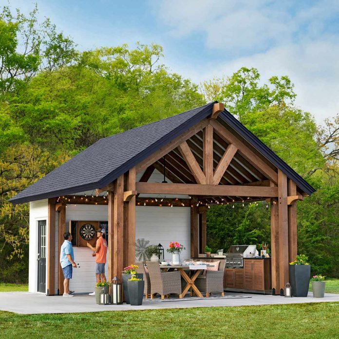 kitchen pavilion shed featured photo