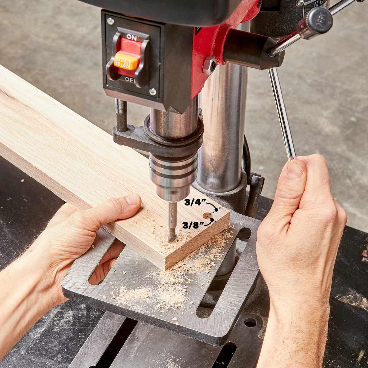 dartboard drill the plug holes
