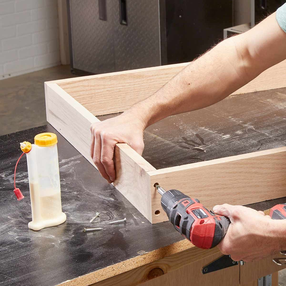 dartboard assemble the cabinet box