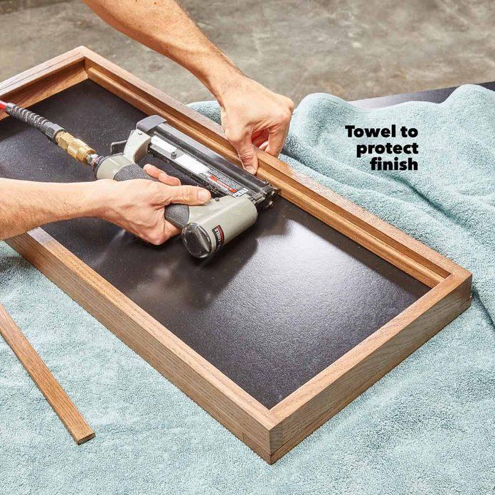 dartboard install the chalkboard