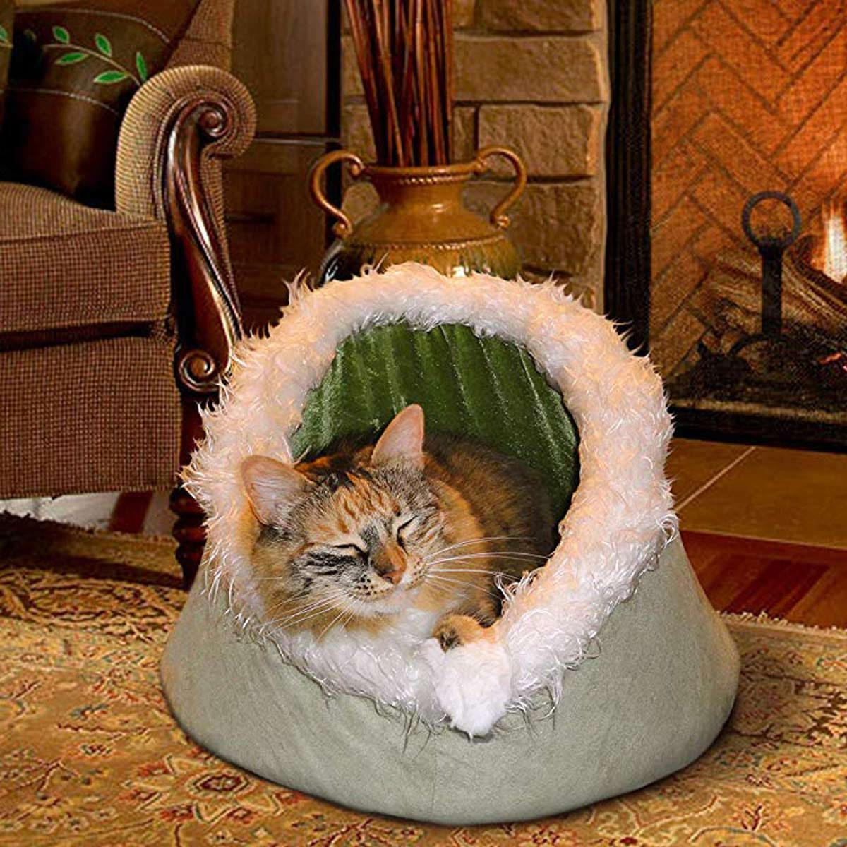 FurHaven-Pet-Cat-Bed