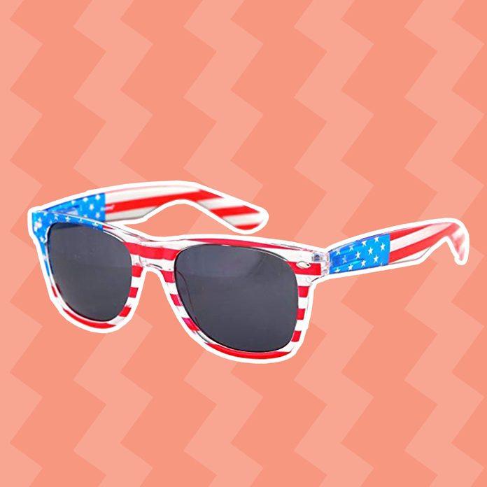Shaderz American USA Flag Sunglasses