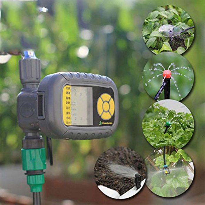 Solar-Powered-Automatic-lawn-Irrigation-Controllers
