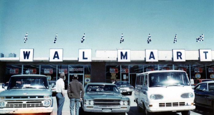 walmart store vintage