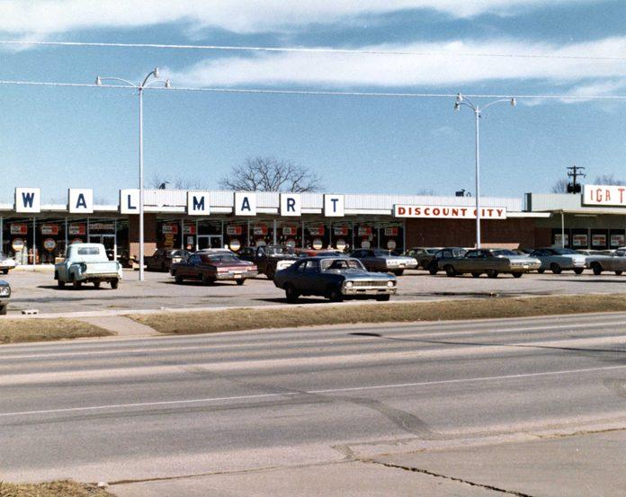 vintage walmart store