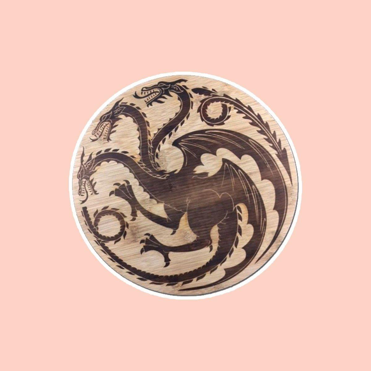 Targaryen Dragon Sigil Cutting Board