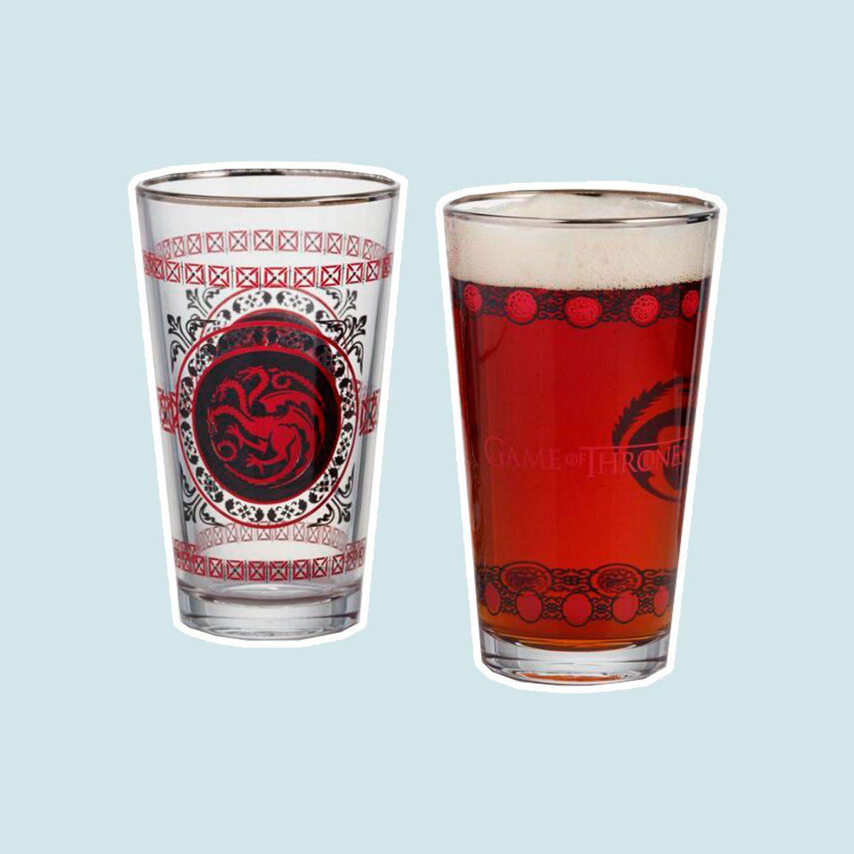 Set of Game of Thrones Pub Glasses