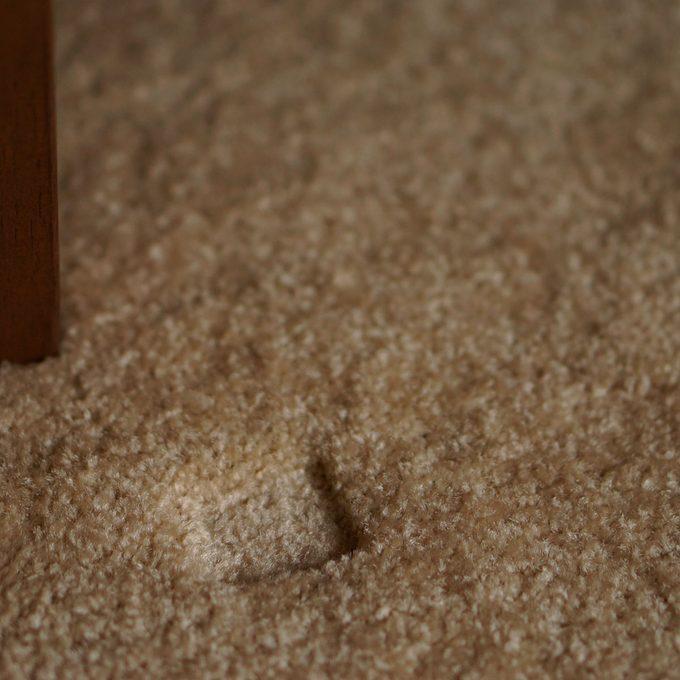 furniture dent in carpet