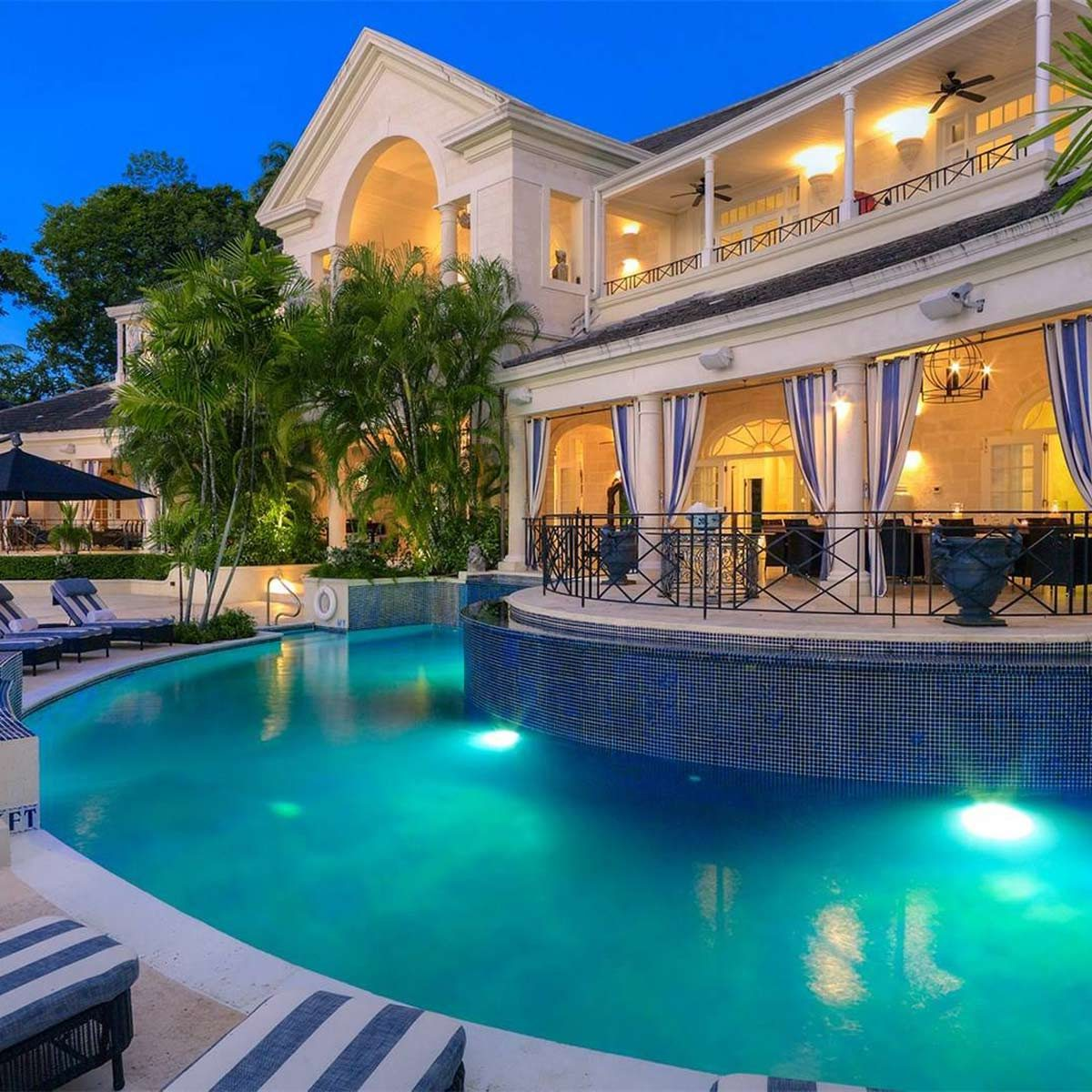 Cove spring mansion in St. James Barbadoes
