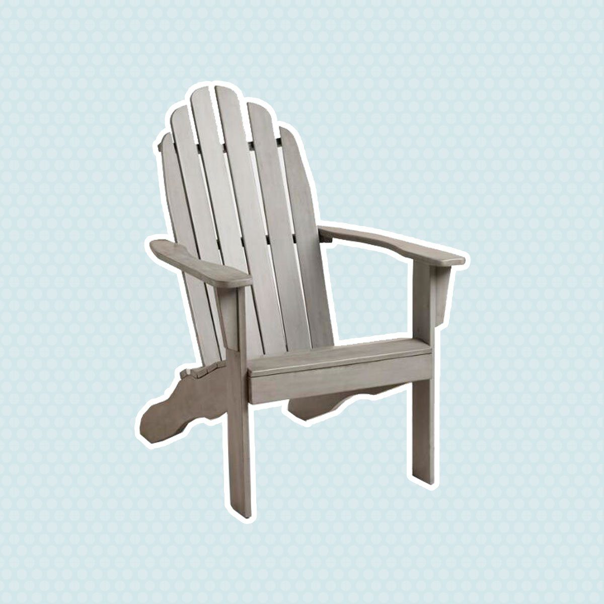 Gray Adirondack Chair