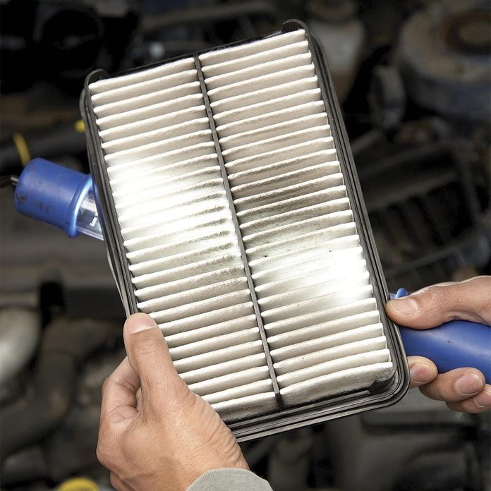 check engine air filter