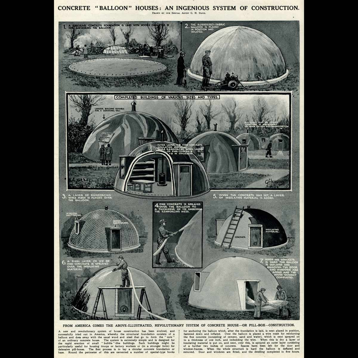 Inflated-Dome-Home