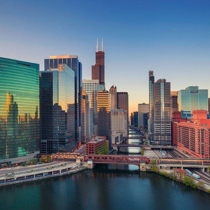 chicago river downton chicago