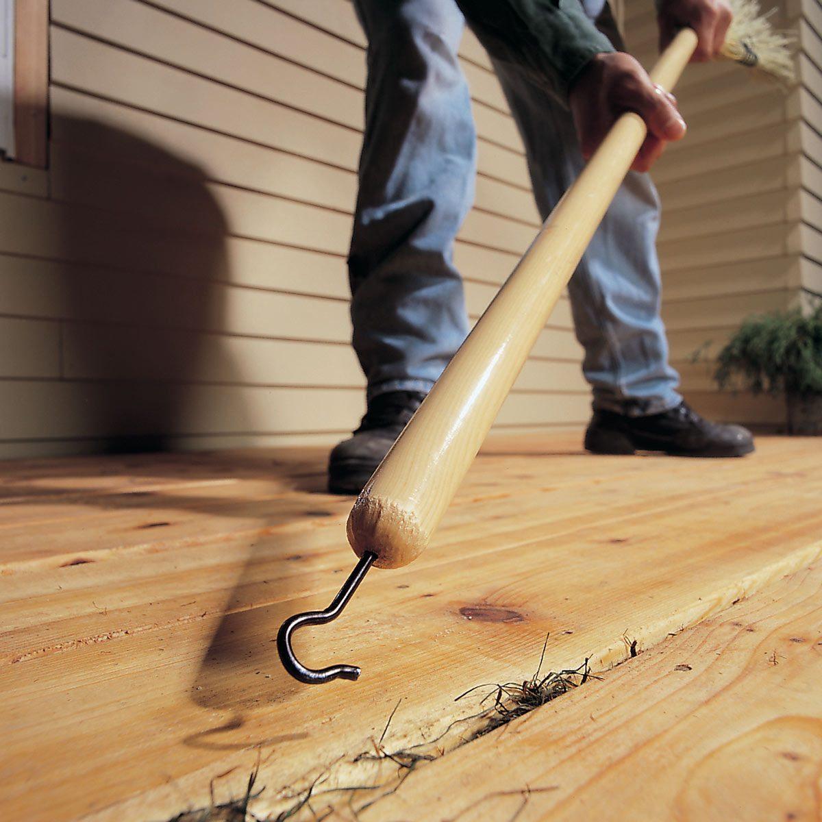 deck crack cleaner HH