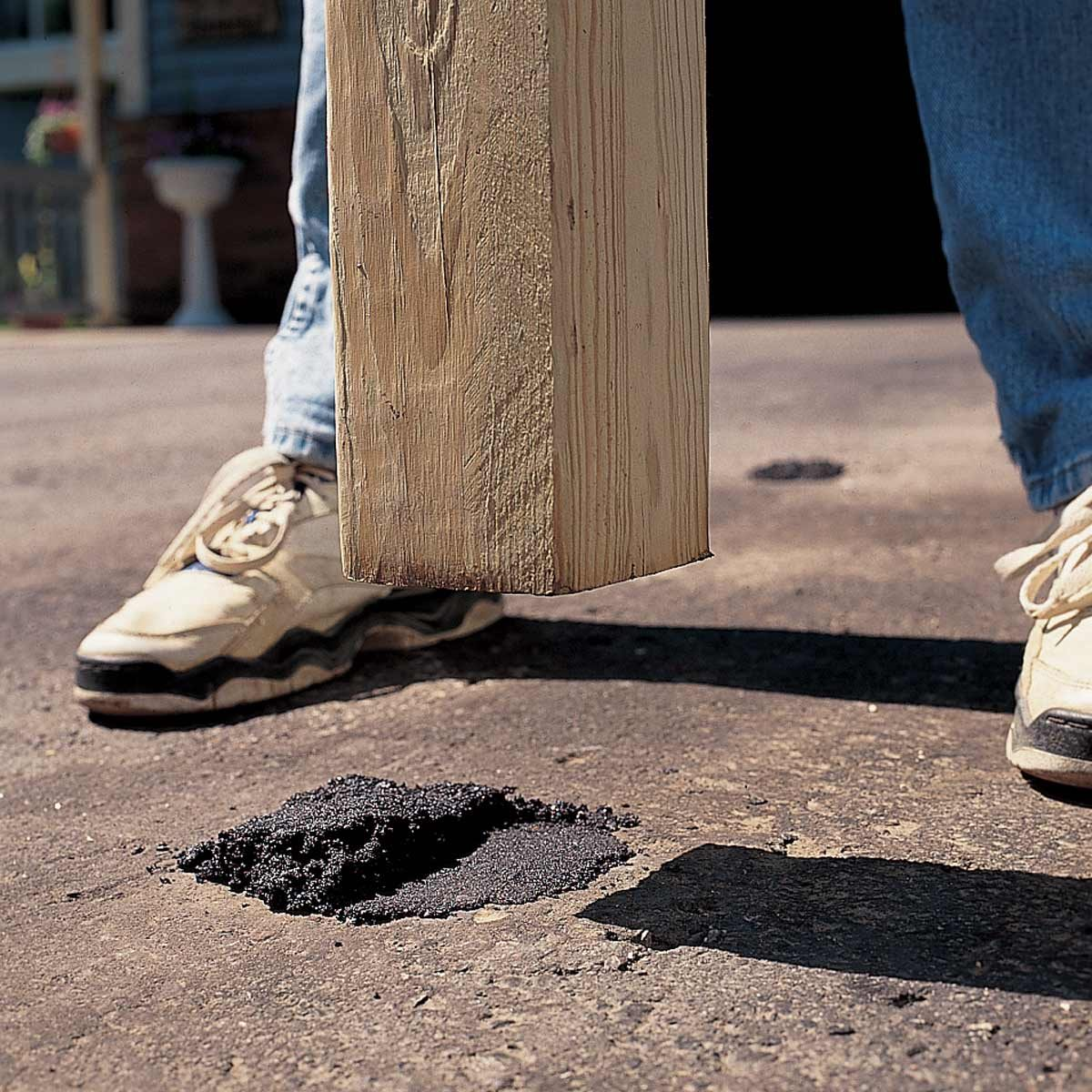 repair pitted asphalt