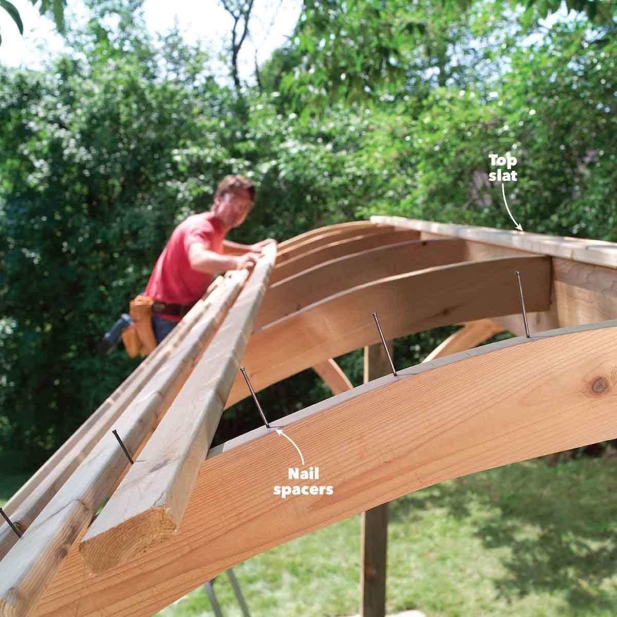 hammock awning attach slats