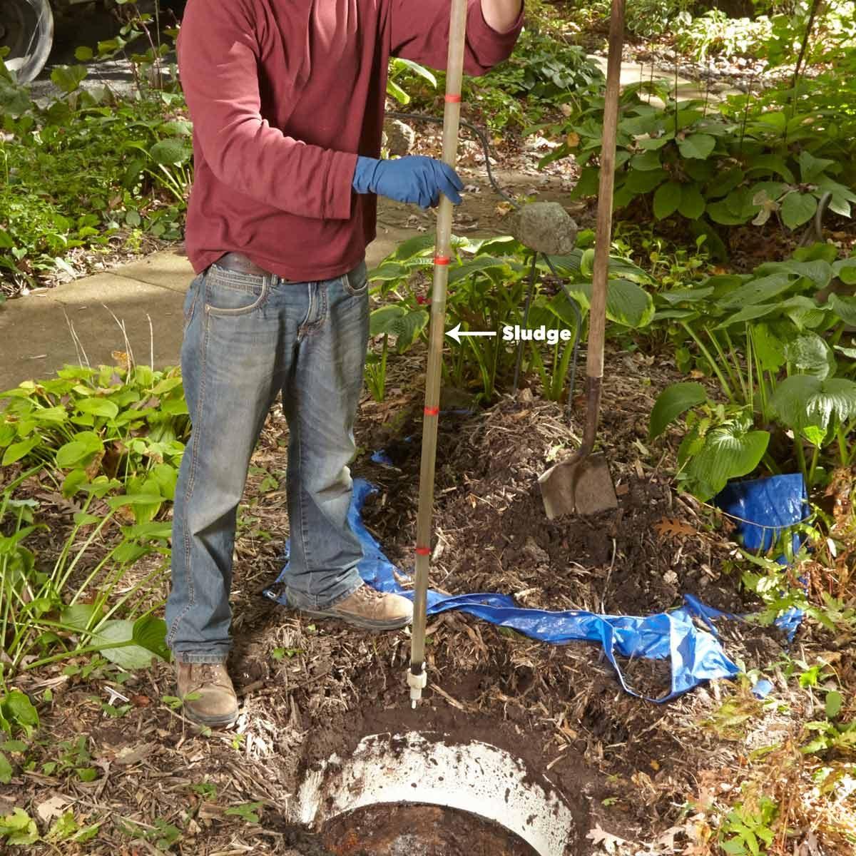 septic tank sludge