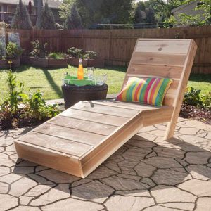 How to Build an Outdoor Chaise Lounge