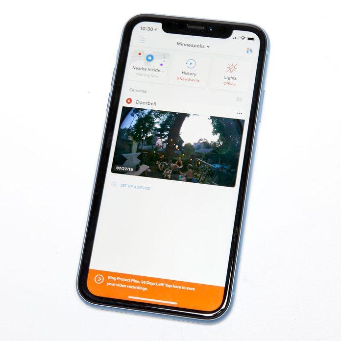 ring video doorbell 2 app