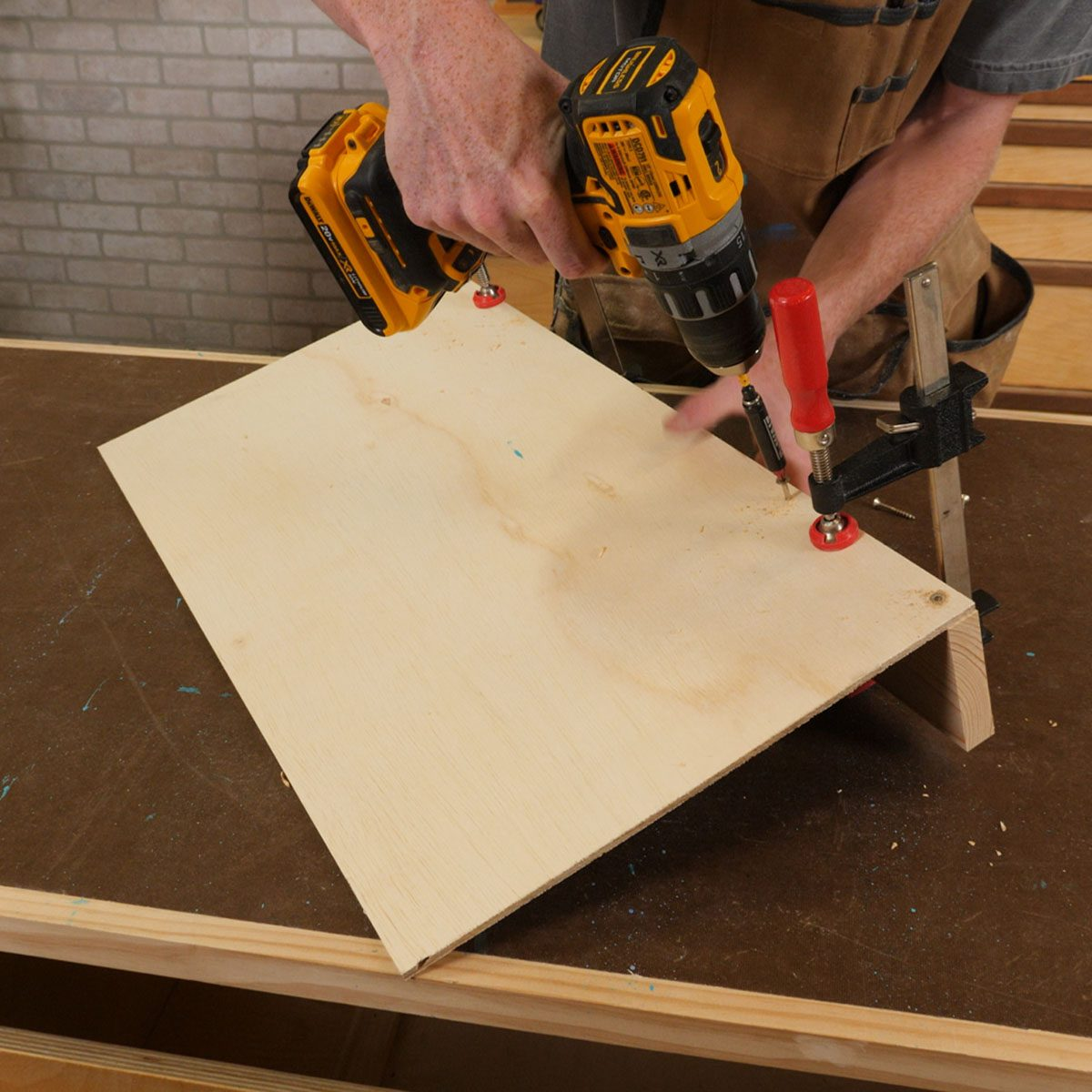 abstract wall art miter saw fence