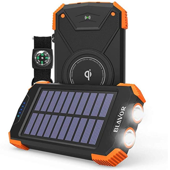 qi solar charger