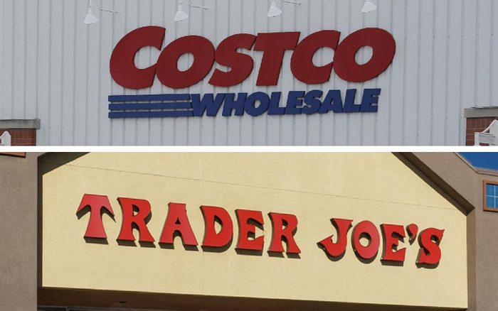 costco - trader joes