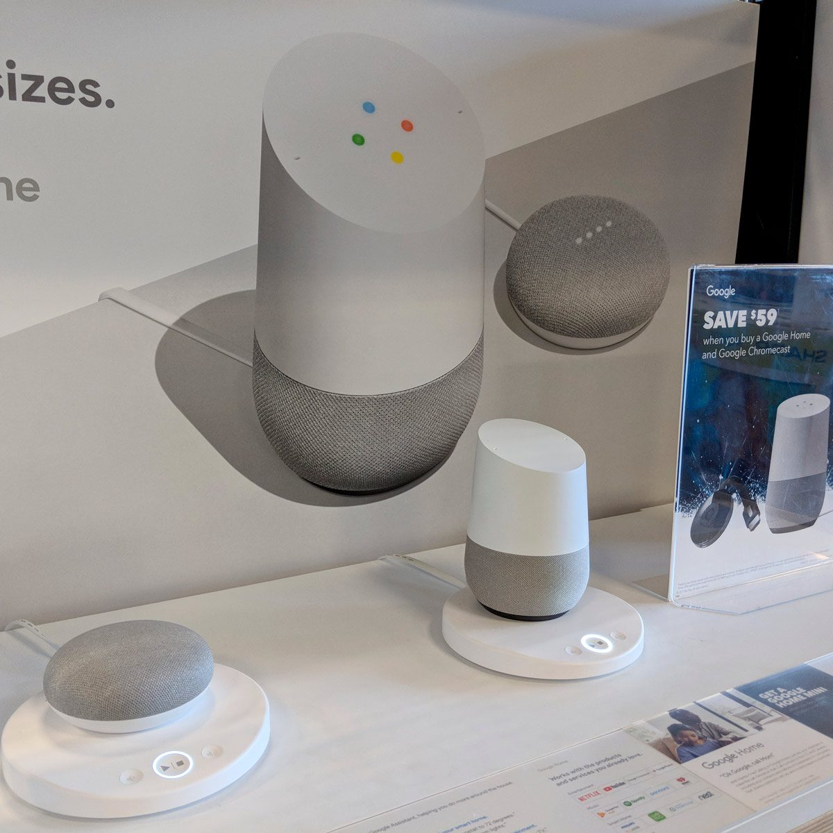 google home vs mini