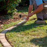 How to Install Concrete Flower Bed Edging