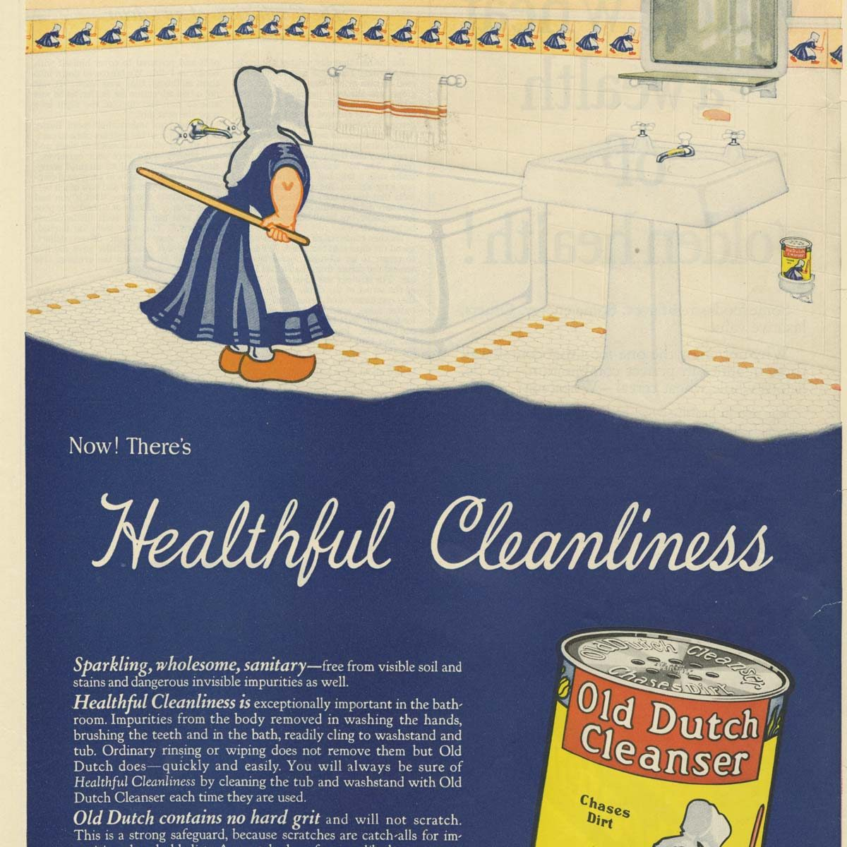 Old Dutch Cleanser ad