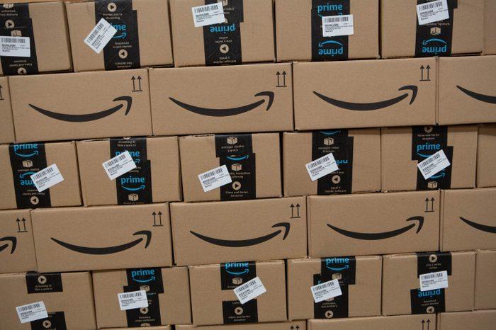 Amazon fulfilment Centre, Hemel Hempstead, UK - 14 Nov 2018