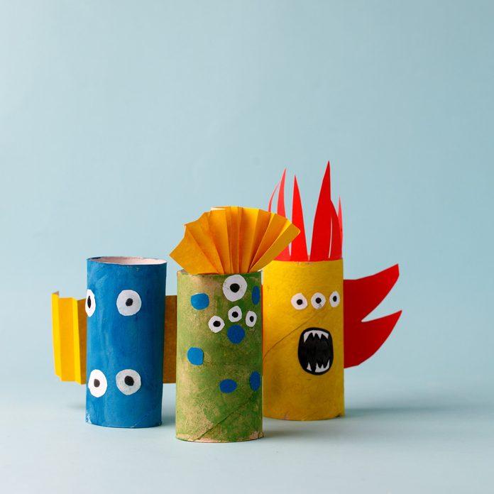 Cardboard-tube-Halloween-monsters