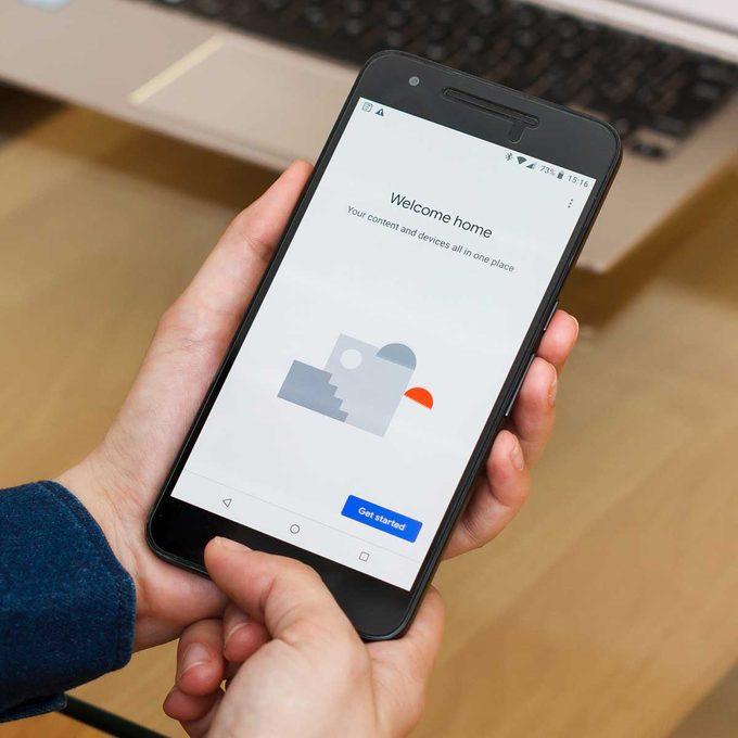 google home app design