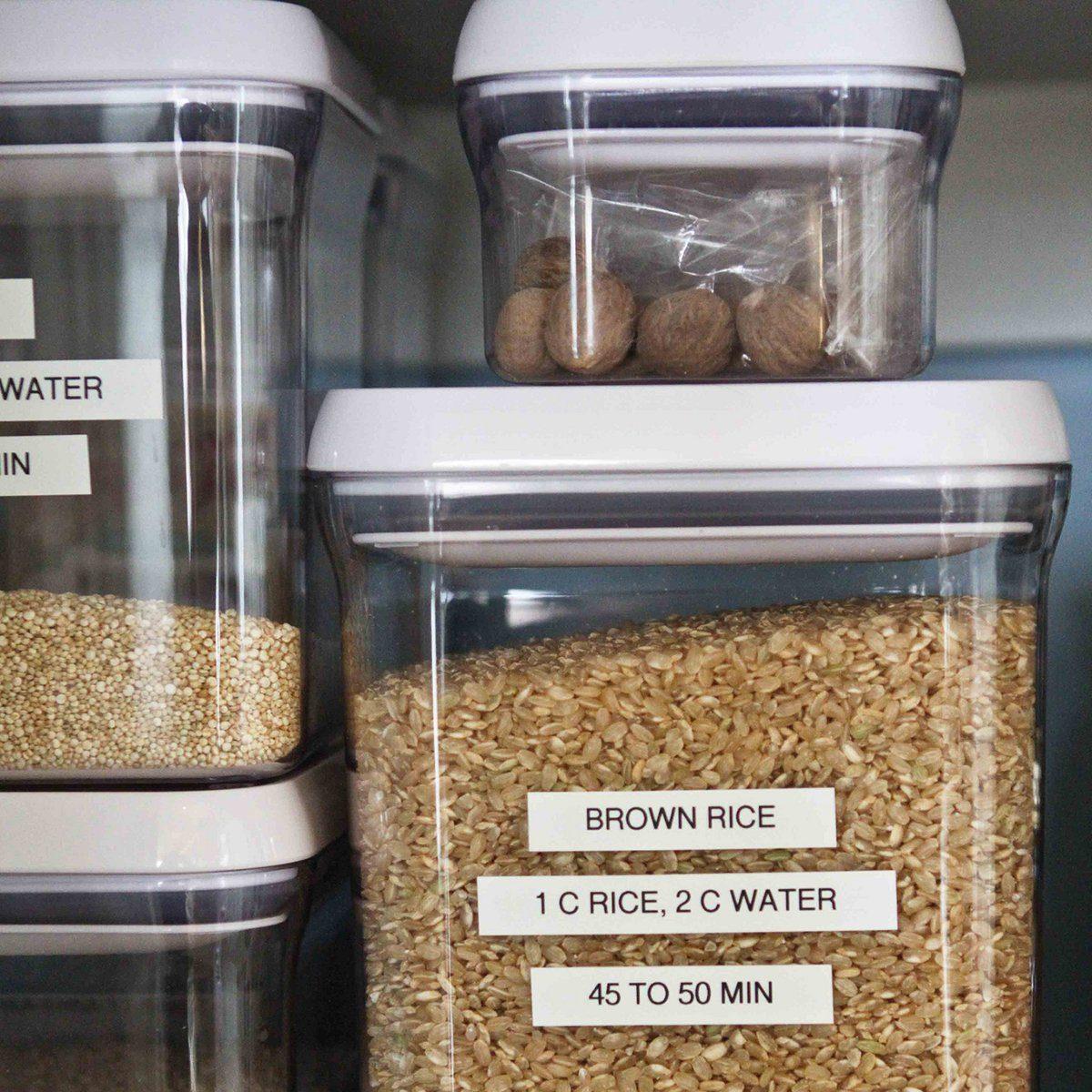 pantry rice storage