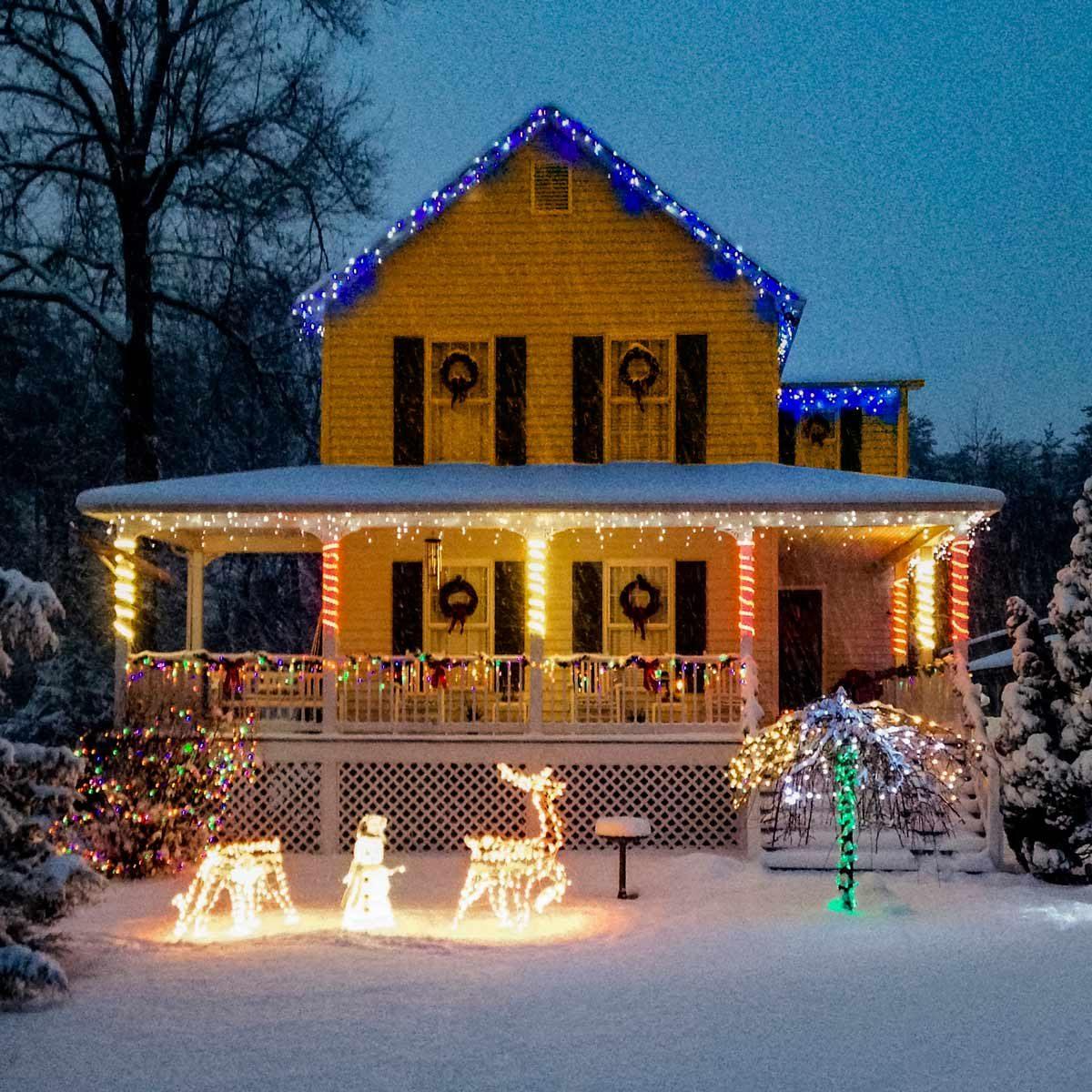 exterior home christmas lights