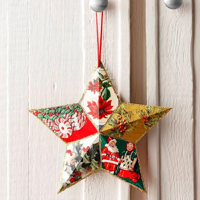 Star ornament craft