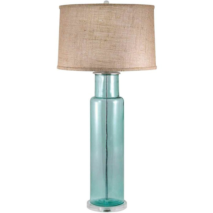 Lamp-made-from-recycled-glass