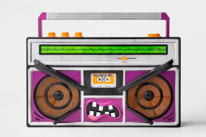 spooky target halloween decor decorations monster boombox stereo