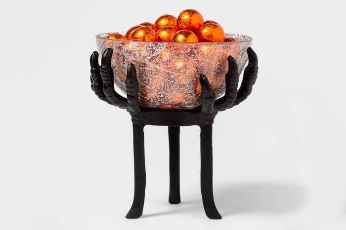 crow feet serving bowl target spooky creepy halloween decor decorations