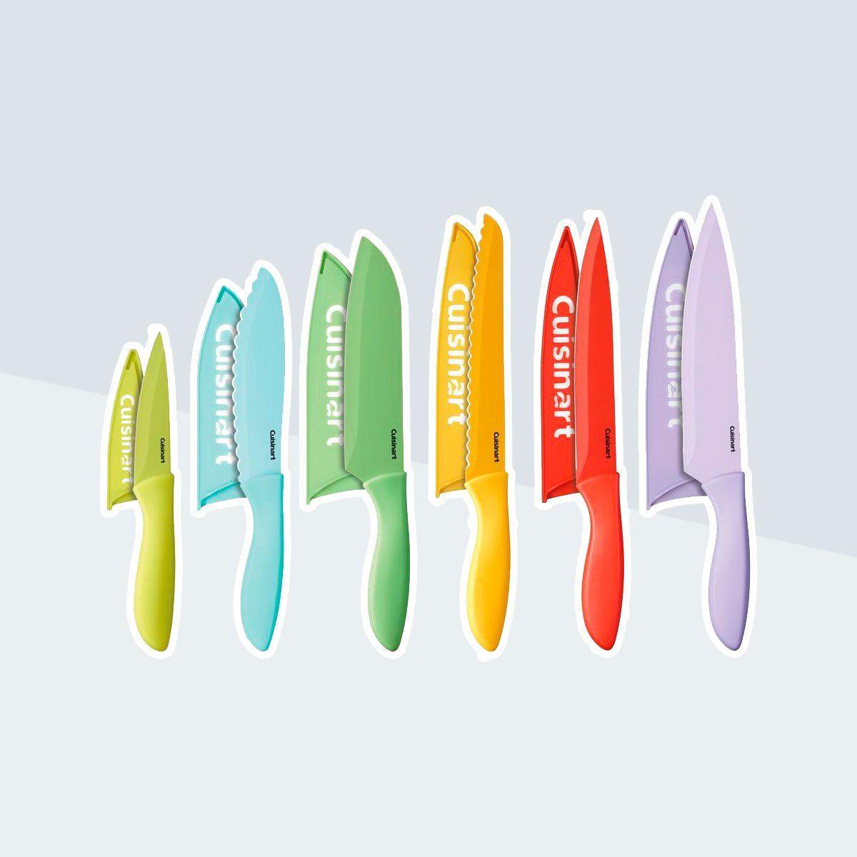Ceramic Coated Color Knife Set