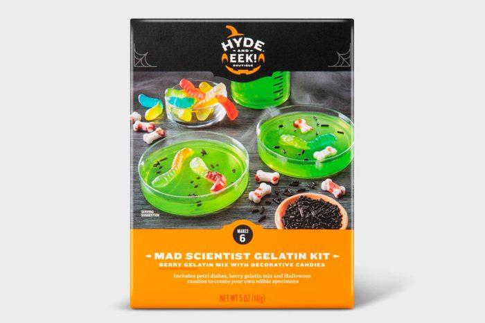 mad scientist gelatin kit jello gummy worms target spooky halloween decor decorations