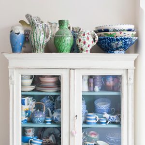 How to Paint a China Cabinet with Chalk Paint