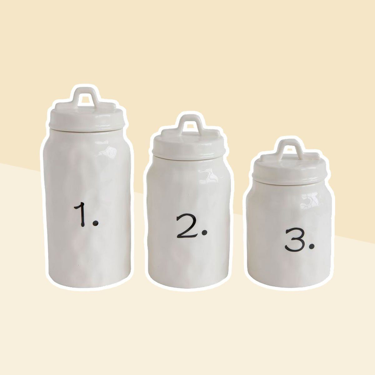 Ceramic Food Canisters