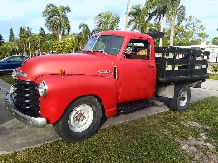 vintage chevy truck 1948