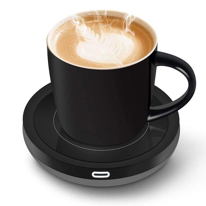 heated coffee warmer